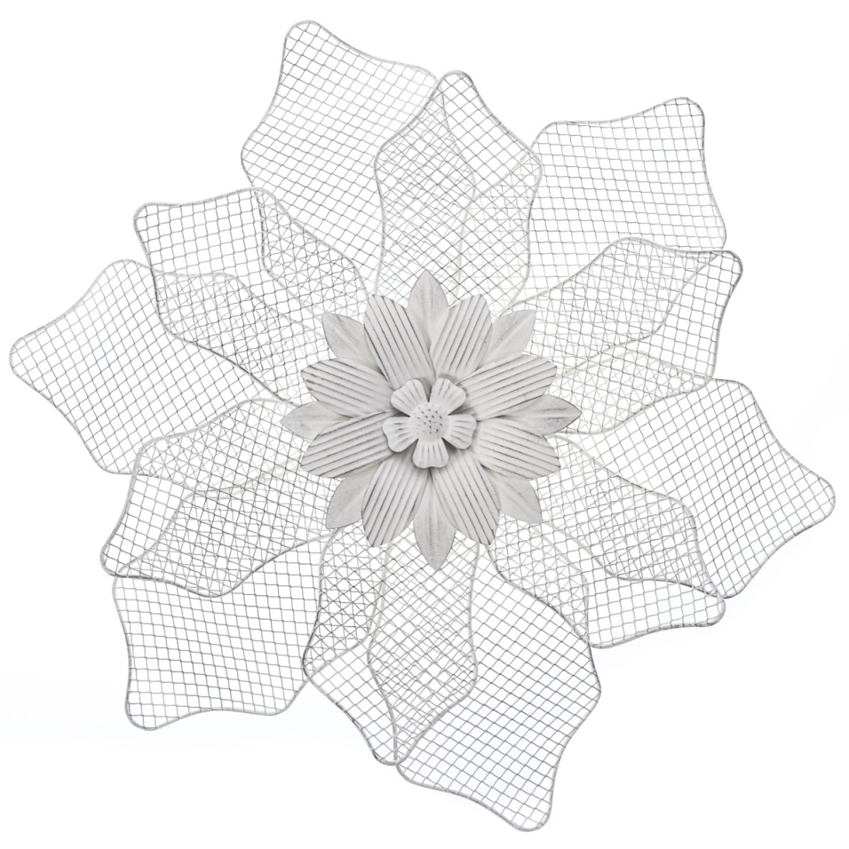 Metal Flower Wall Decor