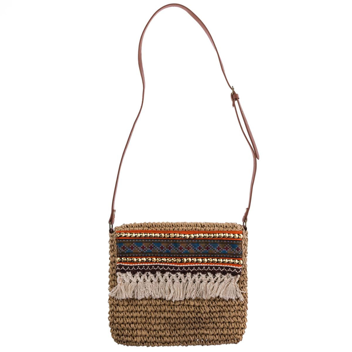 Tassel Crossbody Bag