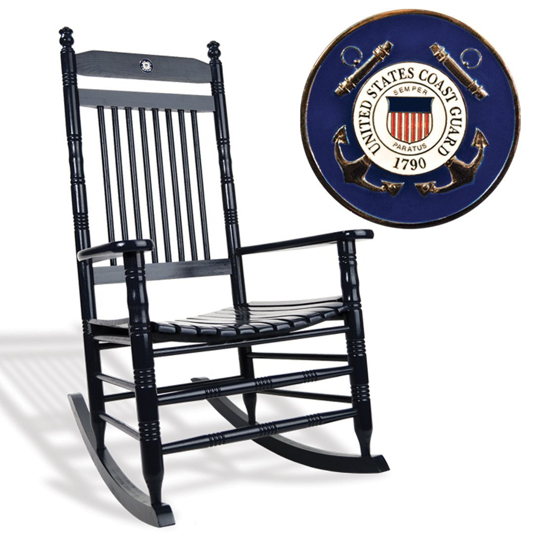 U.S. Coast Guard Rocking Chair
