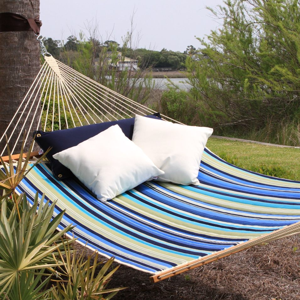 Large Quilted Fabric Hammock