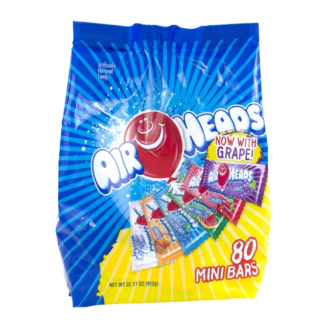 Mini Airheads - 80 Piece Bag