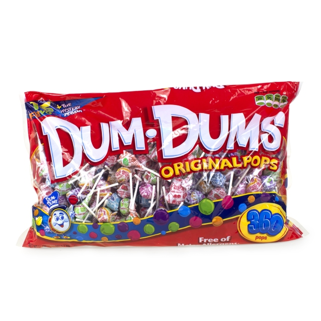 Dum Dum Pops - 360 piece bag