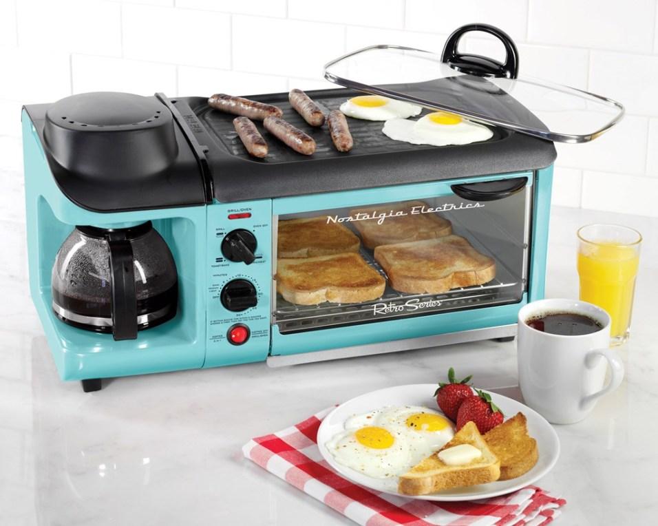 Retro 3-in-1 Breakfast Station