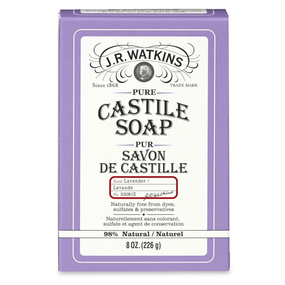 J.R. Watkins ™ Pure Castile Bar Soap - Lavender
