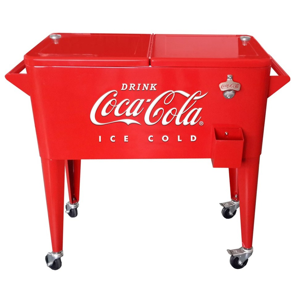 Vintage Coca-Cola ® 80-Quart Cooler