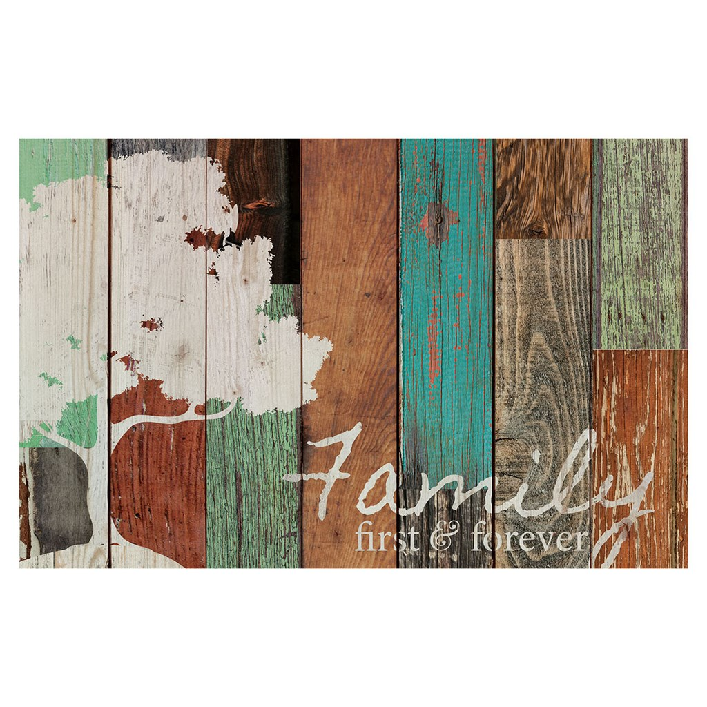 """""""Family First & Forever"""" Pallet Wall Decor"""