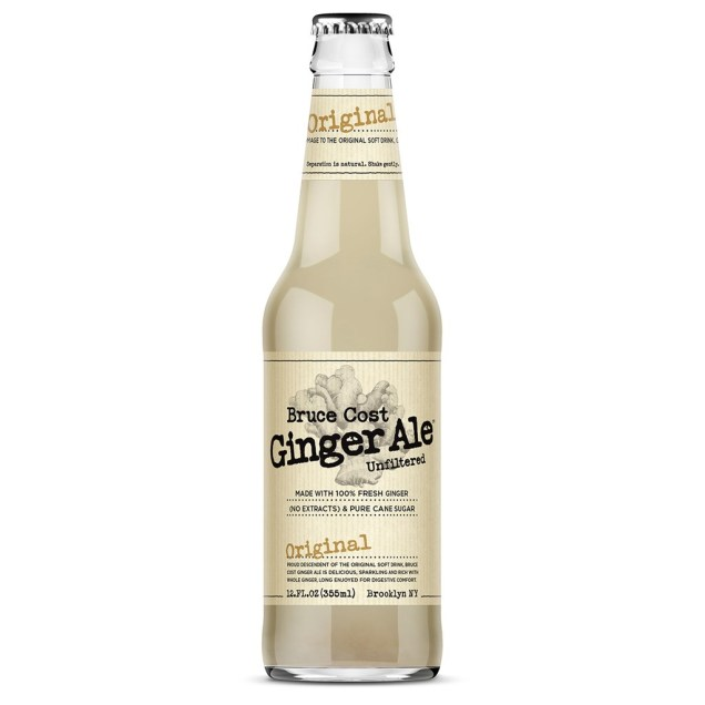 Bruce Cost Unfiltered Ginger Ale Craft Soda