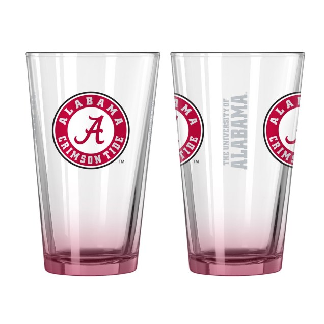 Pint Glass - Set of 2 - Alabama