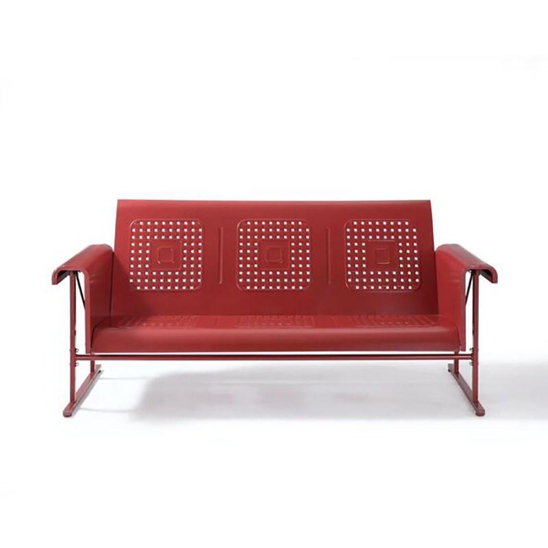 Bates Metal Sofa Glider