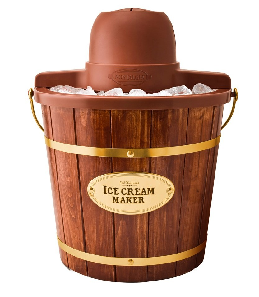 4-Quart Vintage Electric Ice Cream Maker
