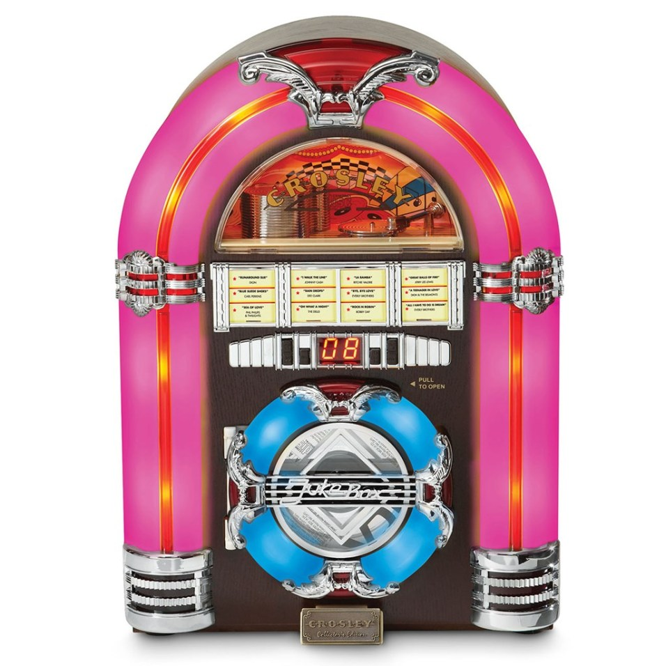 Crosley ® Tabletop Jukebox