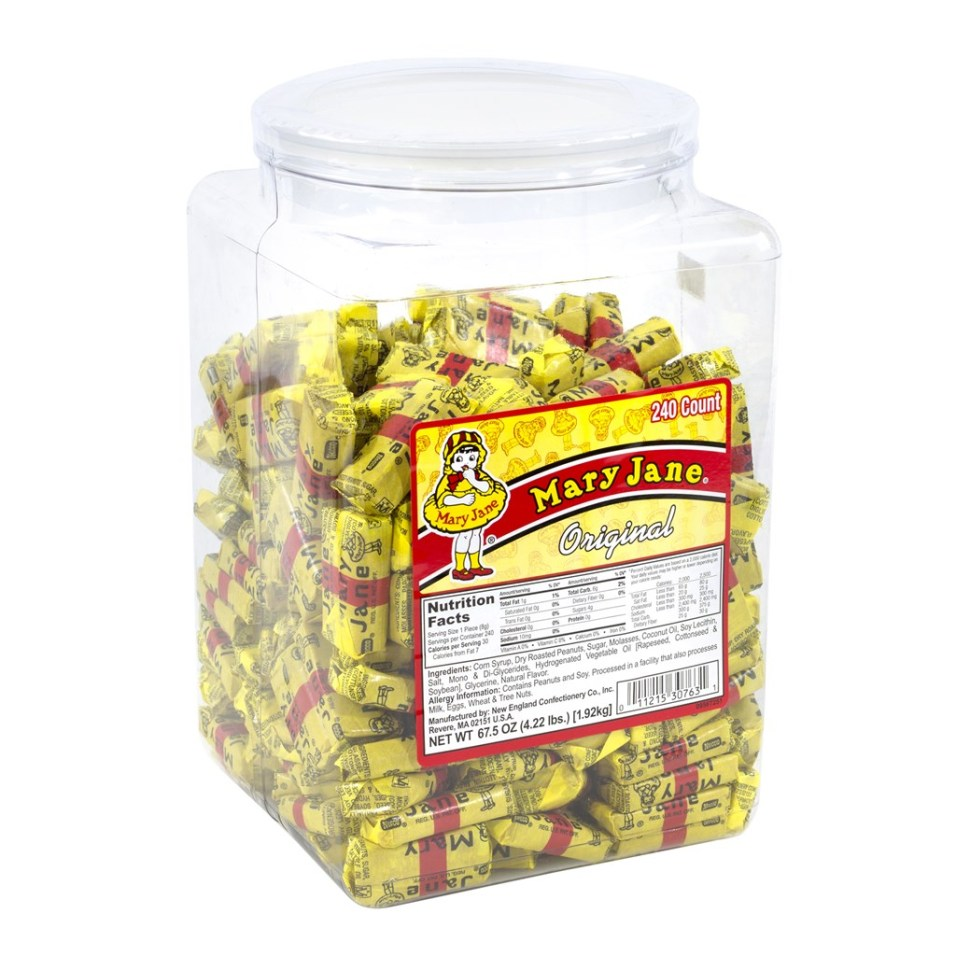 Mary Jane Tub - 240 Count