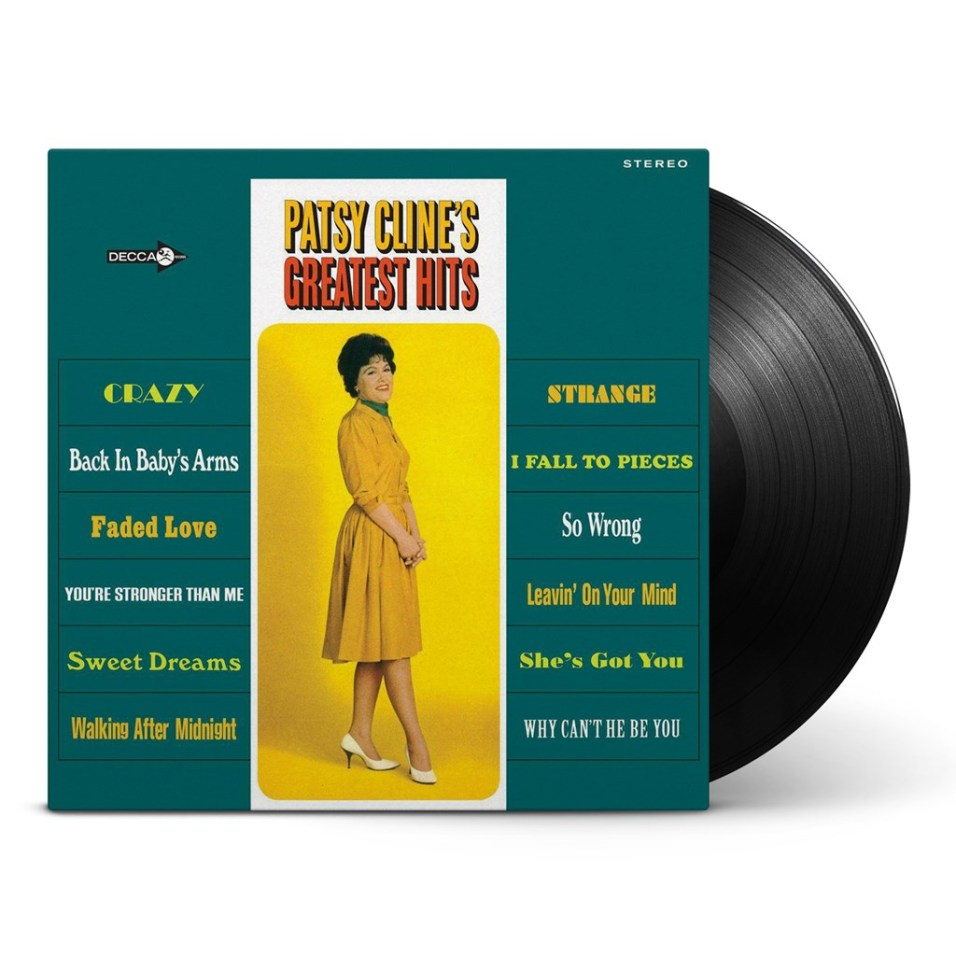 Patsy Cline - Greatest Hits Vinyl