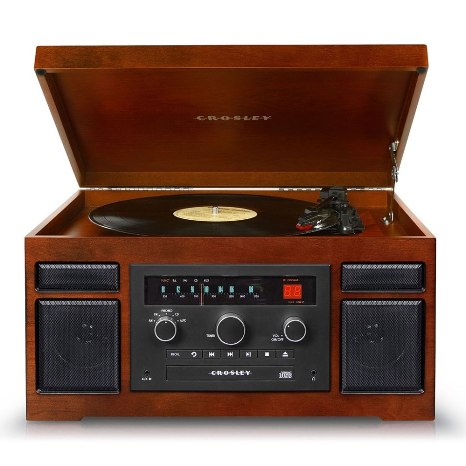 Crosley ® Patriarch Entertainment Center