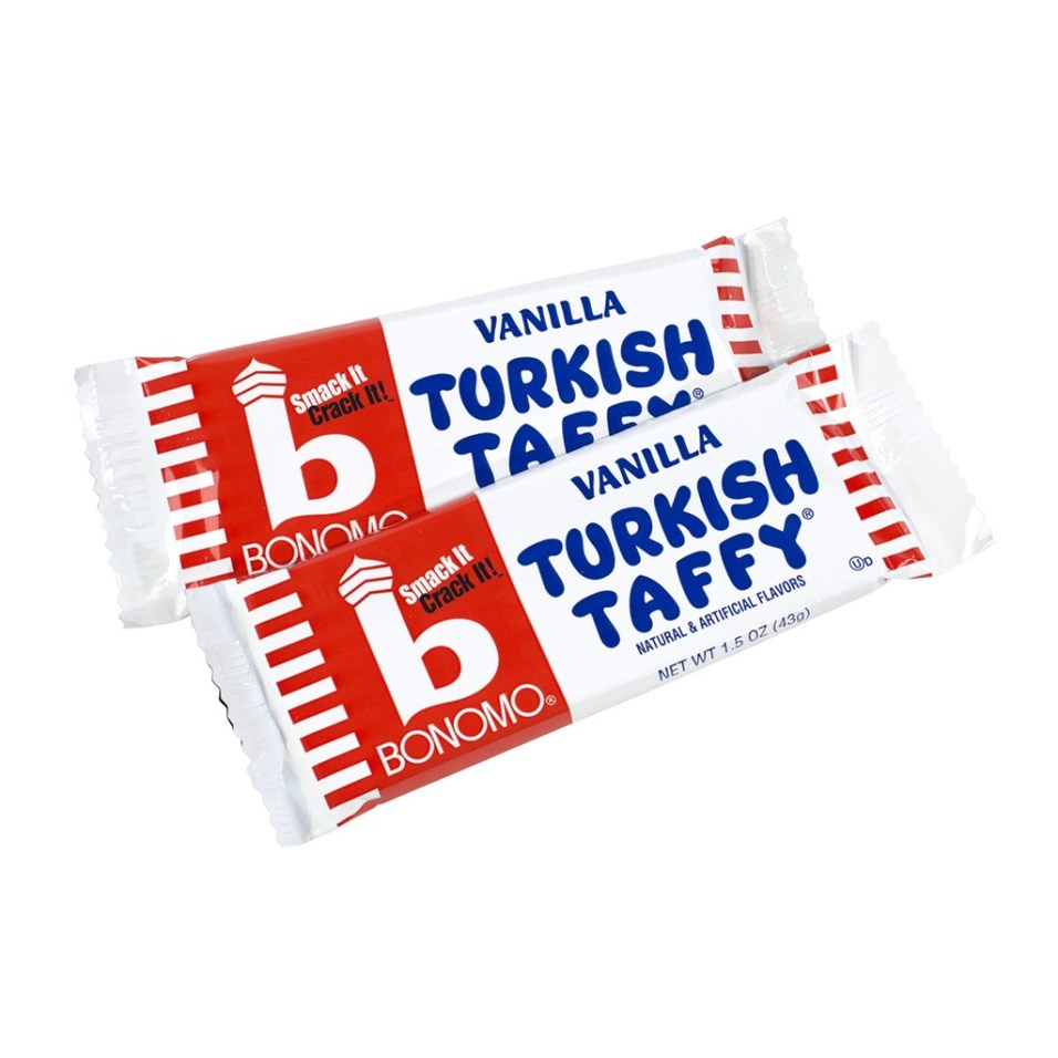 Bonomo Turkish Taffy Vanilla - 24 Count