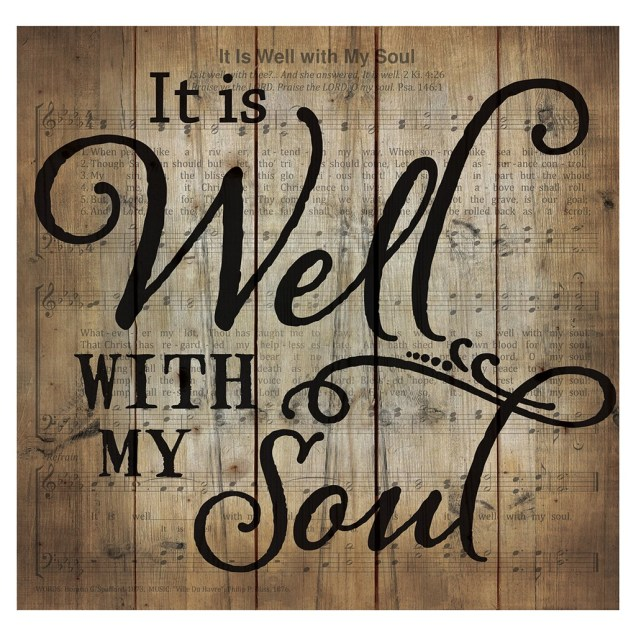 """""""It Is Well With My Soul"""" Pallet Wall Decor"""