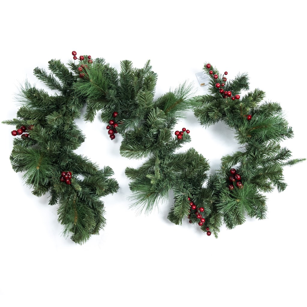 6' Artificial Fresh Forest Spruce Garland