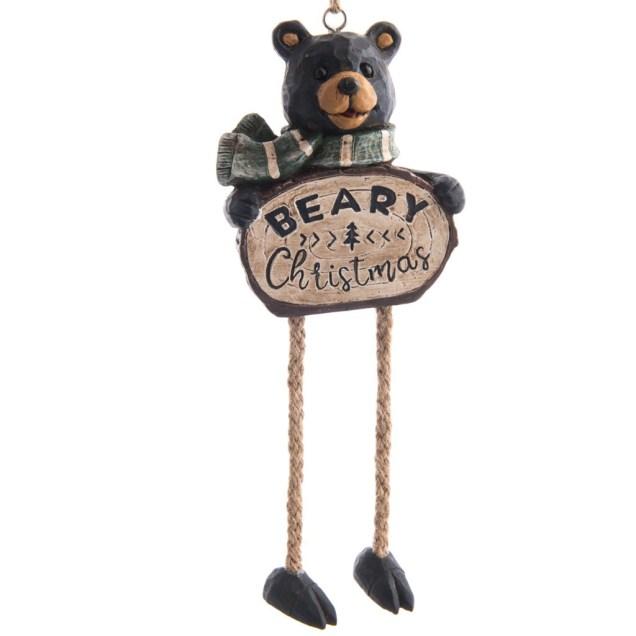 """Beary Christmas"" Ornament"