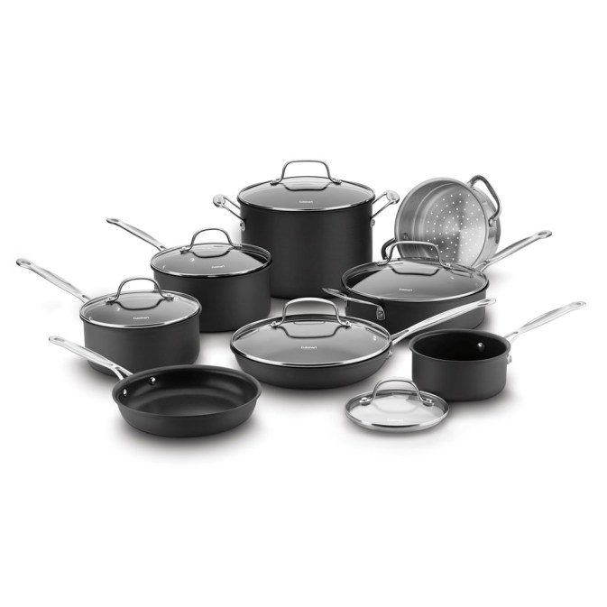 Cuisinart Non-Stick 14-Piece Cookware Set