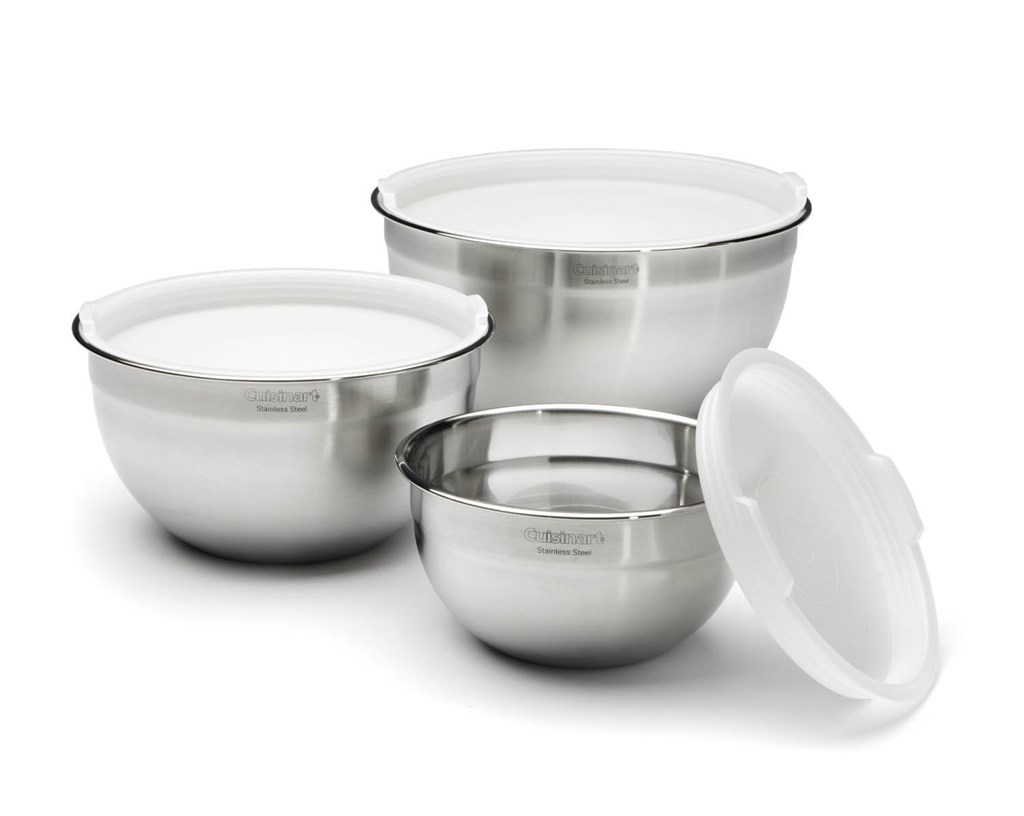 Cuisinart Stainless Steel 6-piece Mixing Bowls