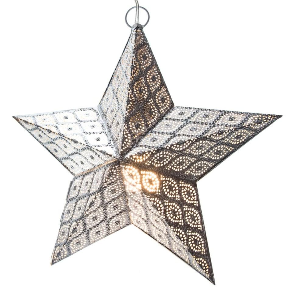 Hanging Metal Star Light