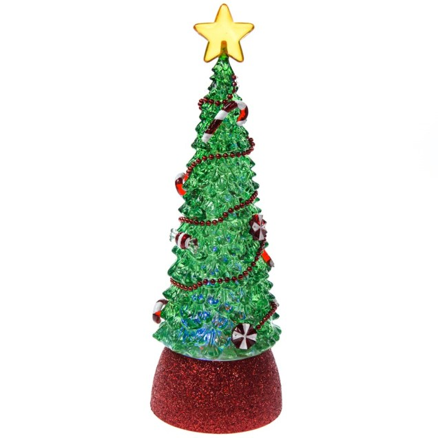 Acrylic LED Rotating Christmas Tree