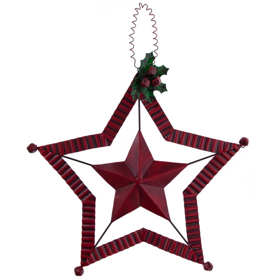 Metal Star Christmas Tree Topper