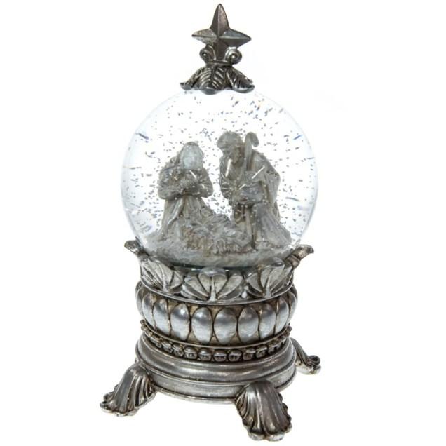 Nativity Snow Globe