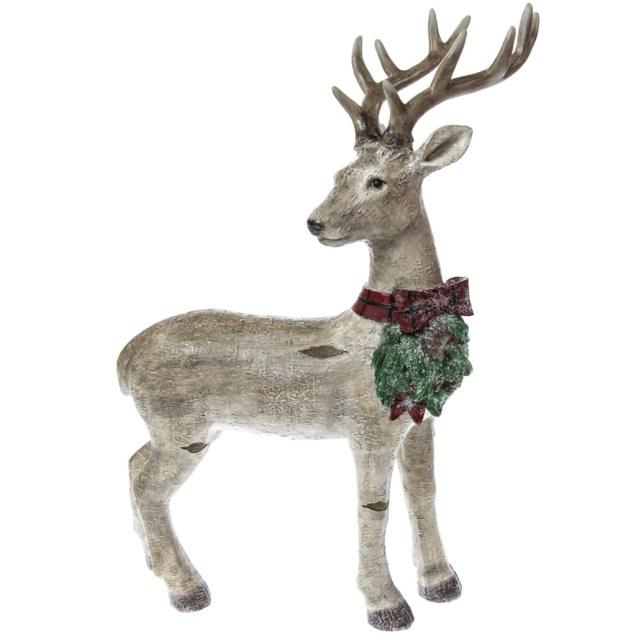 Standing Deer Decor