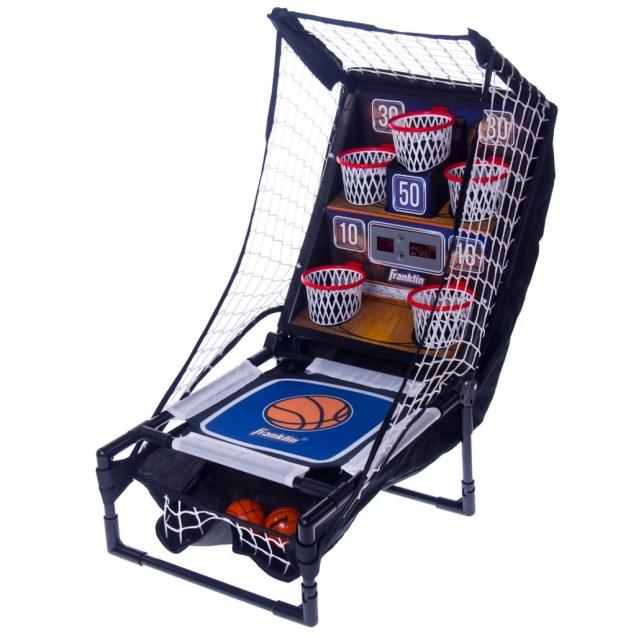 Bounce-a-Bucket Basketball Game