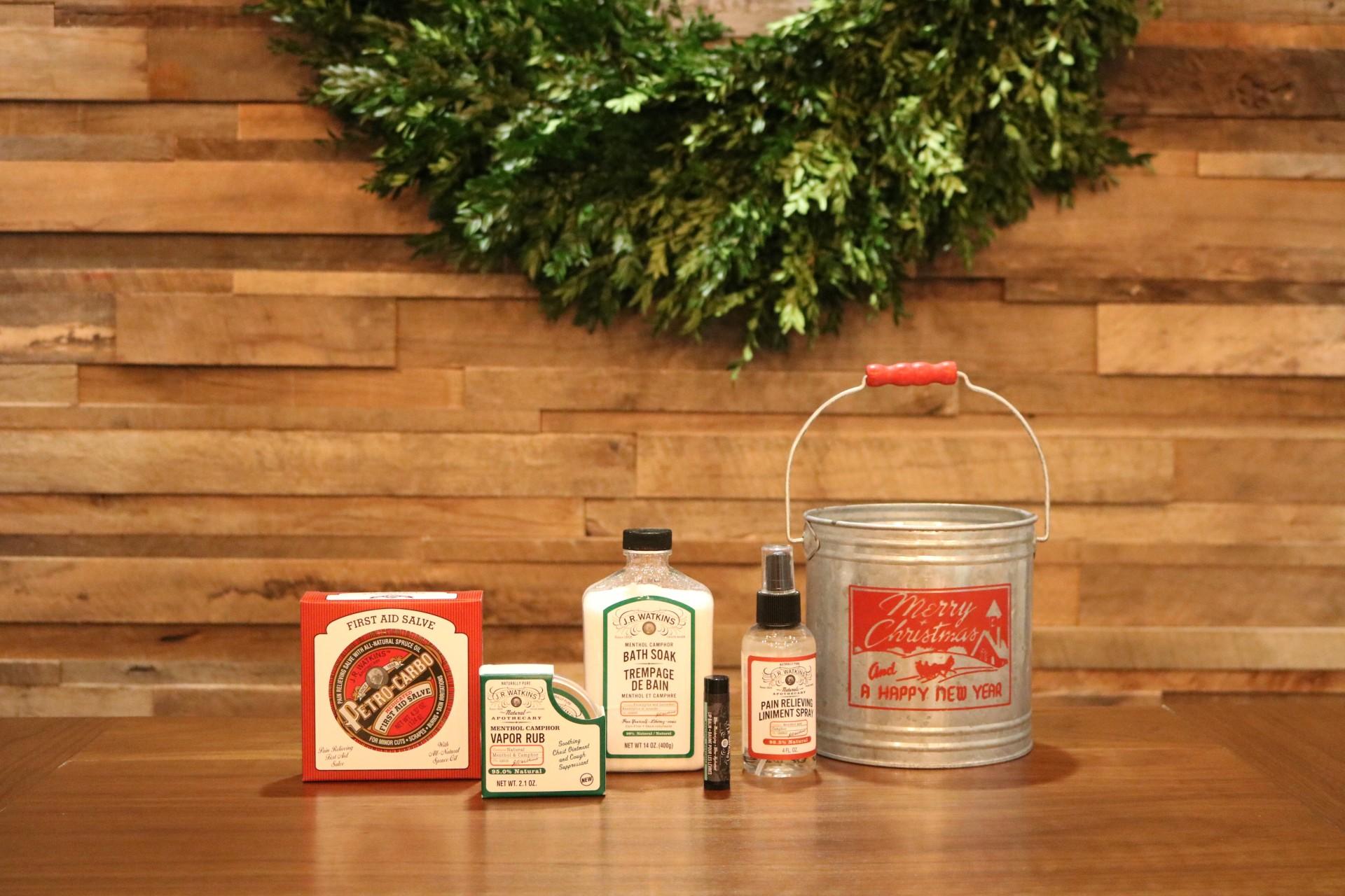 Christmas Bucket 1