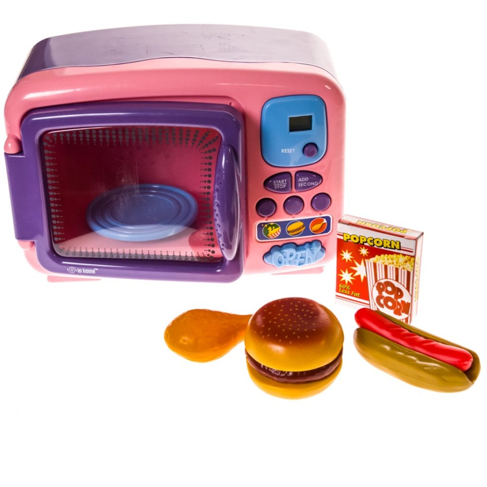 Butterflies ™ Electronic Toy Microwave