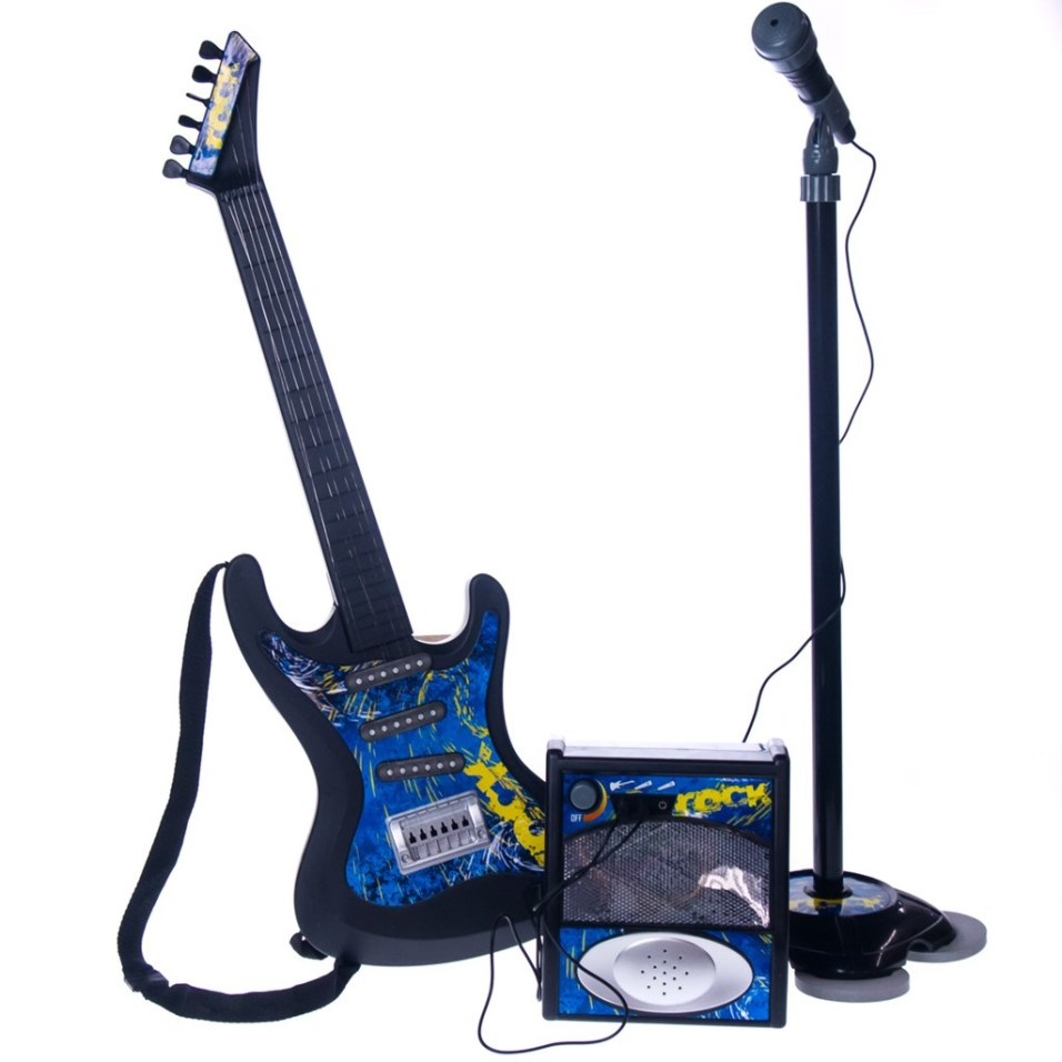 Guitar and Microphone Set