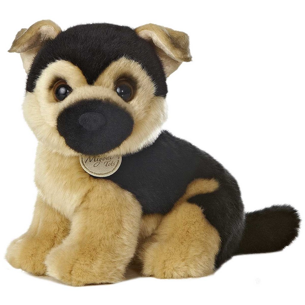 Plush German Shepherd Puppy