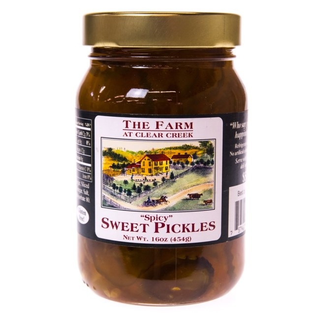 """""""Spicy"""" Sweet Pickles"""