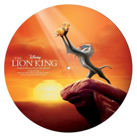 Disney's The Lion King Soundtrack Vinyl