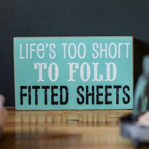 Fitted Sheets Block Sign