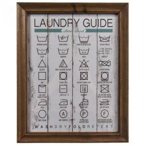 Laundry Cheat Sheet