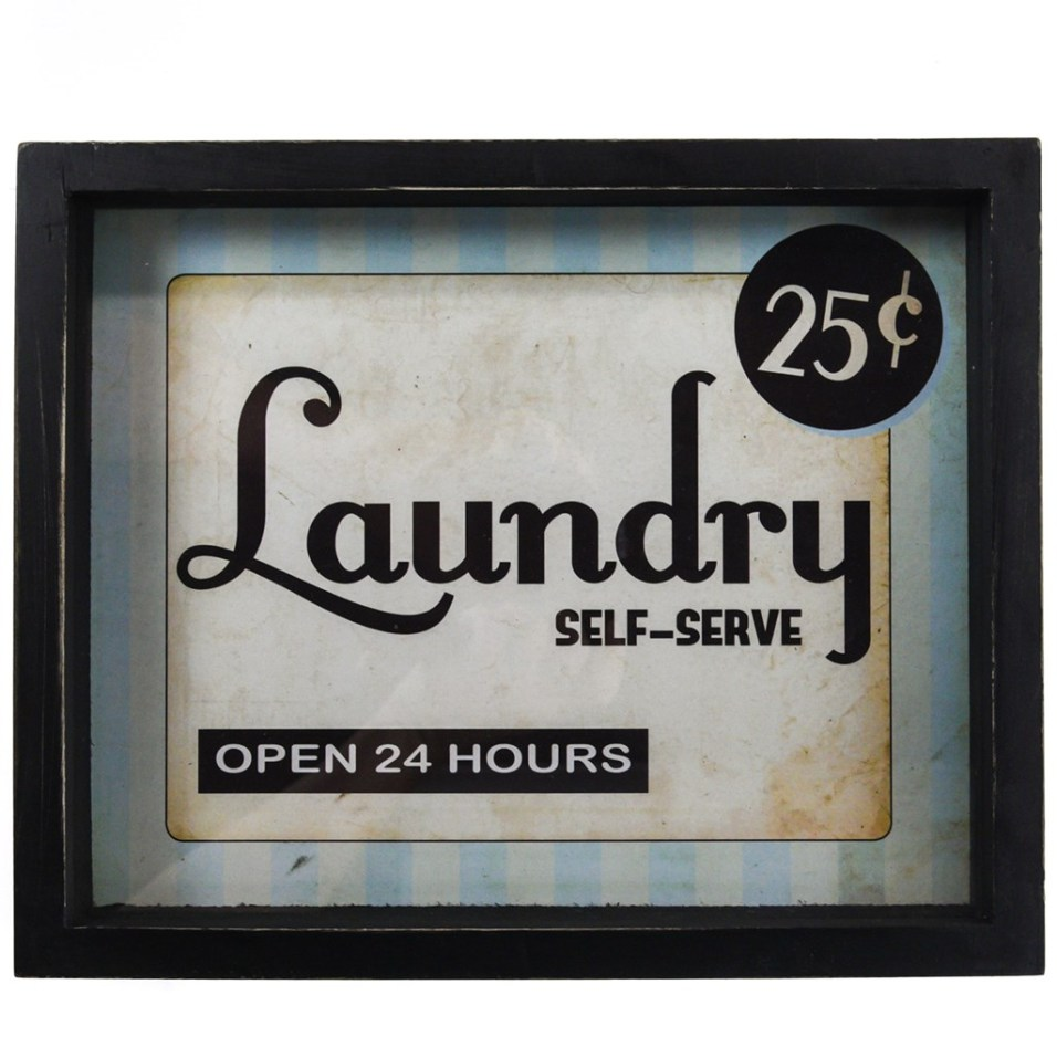 Laundry Sign Horizontal