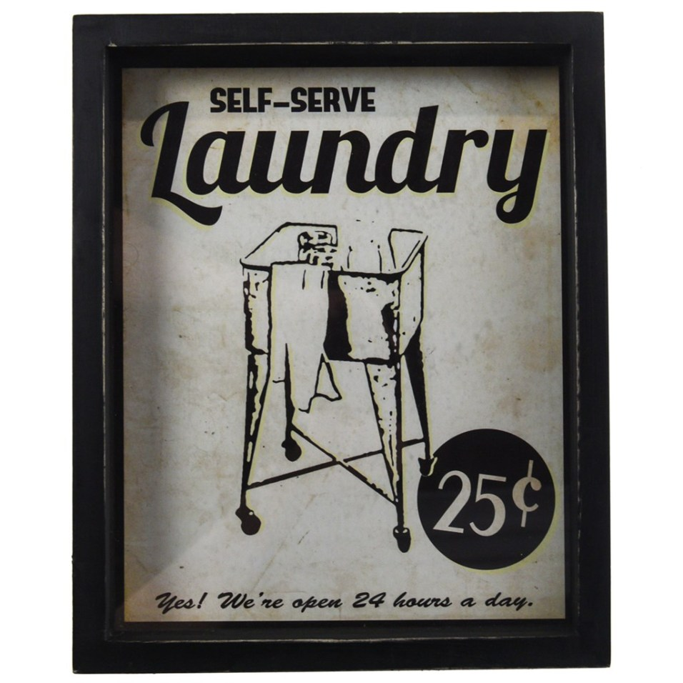 Laundry Sign Vertical