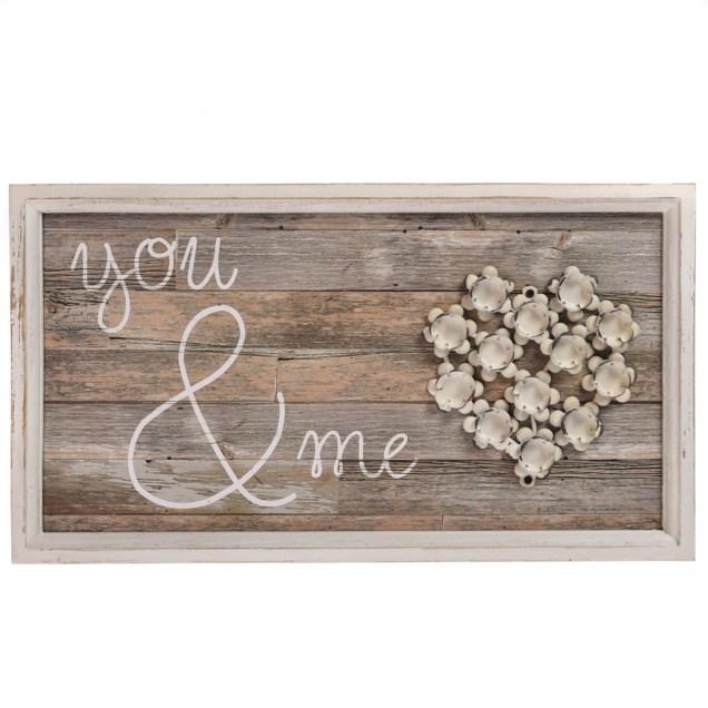 """You and Me"" Wall Decor"