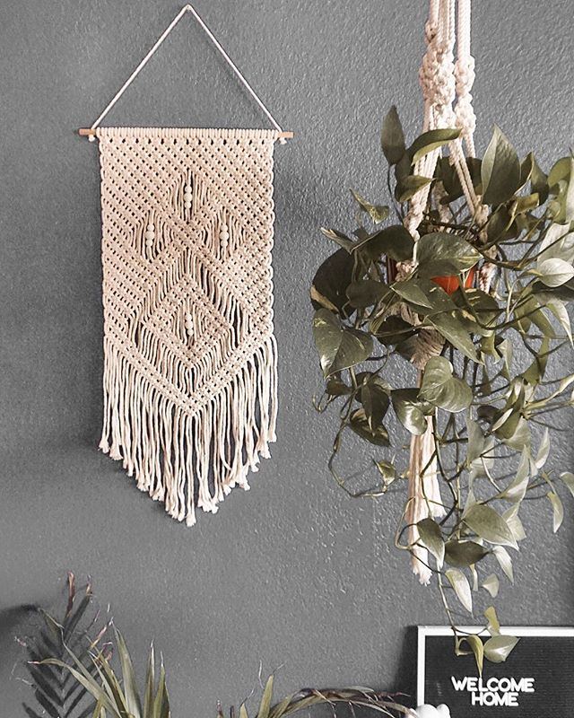 Macrame Hanging Wall Decor