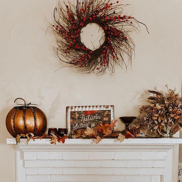 Festive Fall Scene