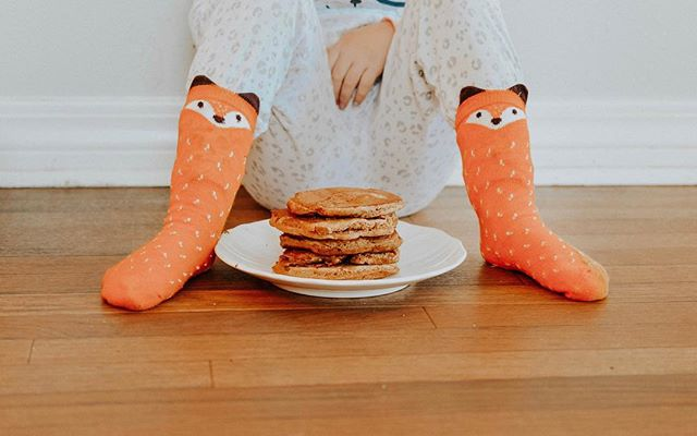 Fox Socks and Pancakes