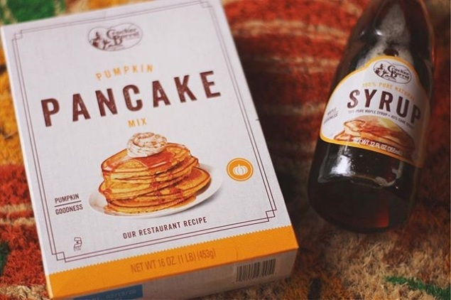 Pumpkin Pancake Mix and Syrup