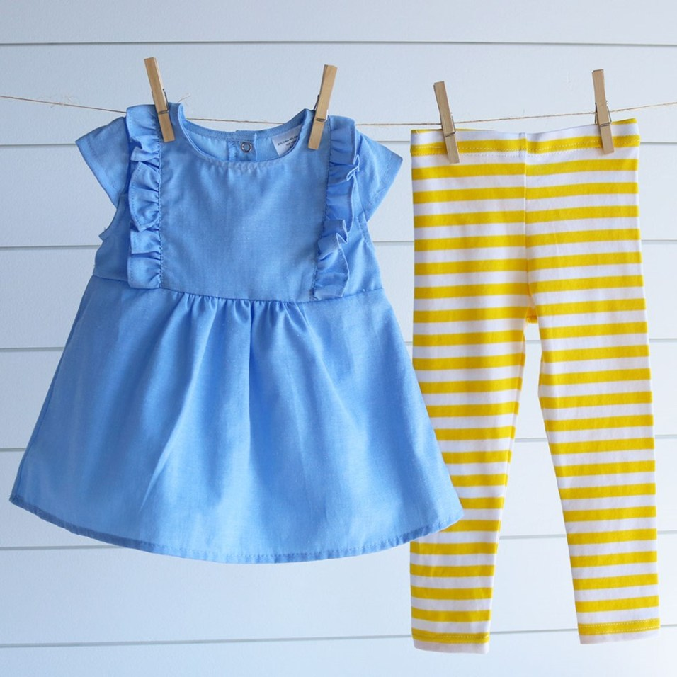 Blue and Yellow Set