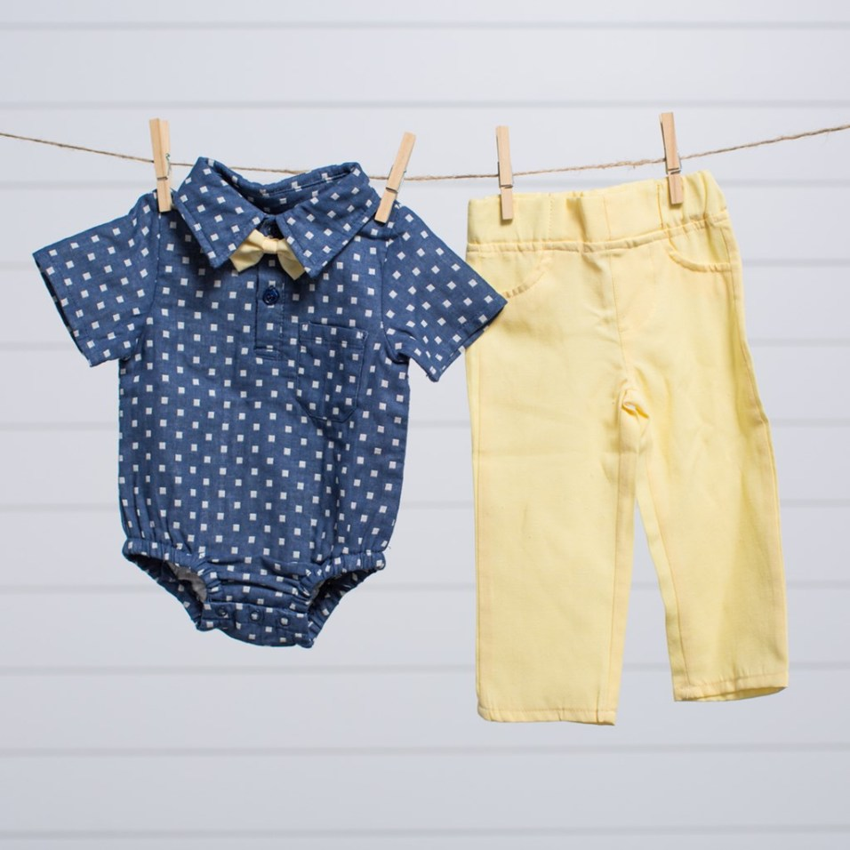 Pant and Bowtie Set