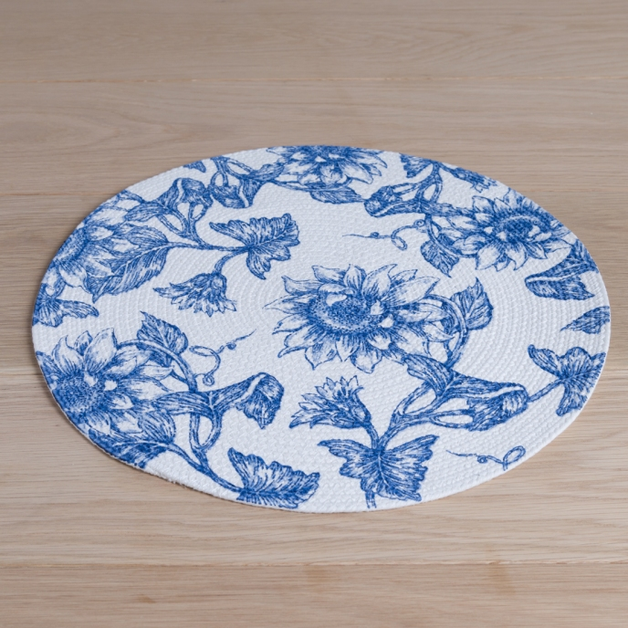 Flower Print Placemat