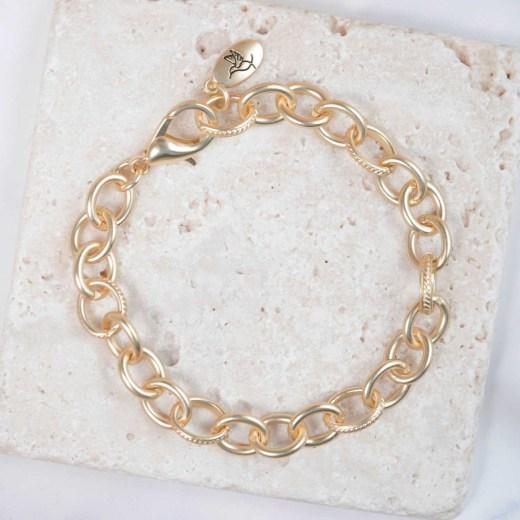 Matte Gold Bracelet