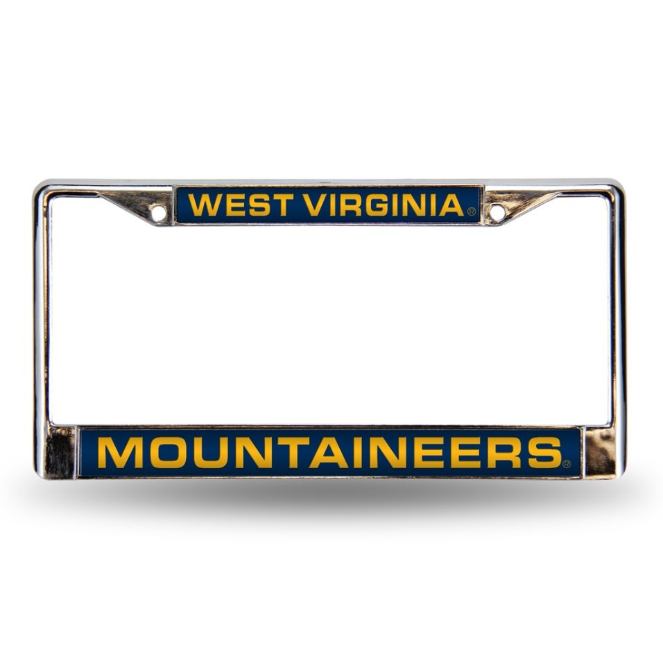 WVU License Plate Holder
